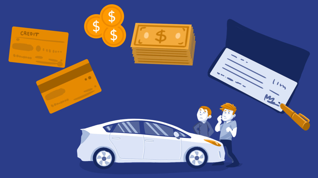 used car payment methods