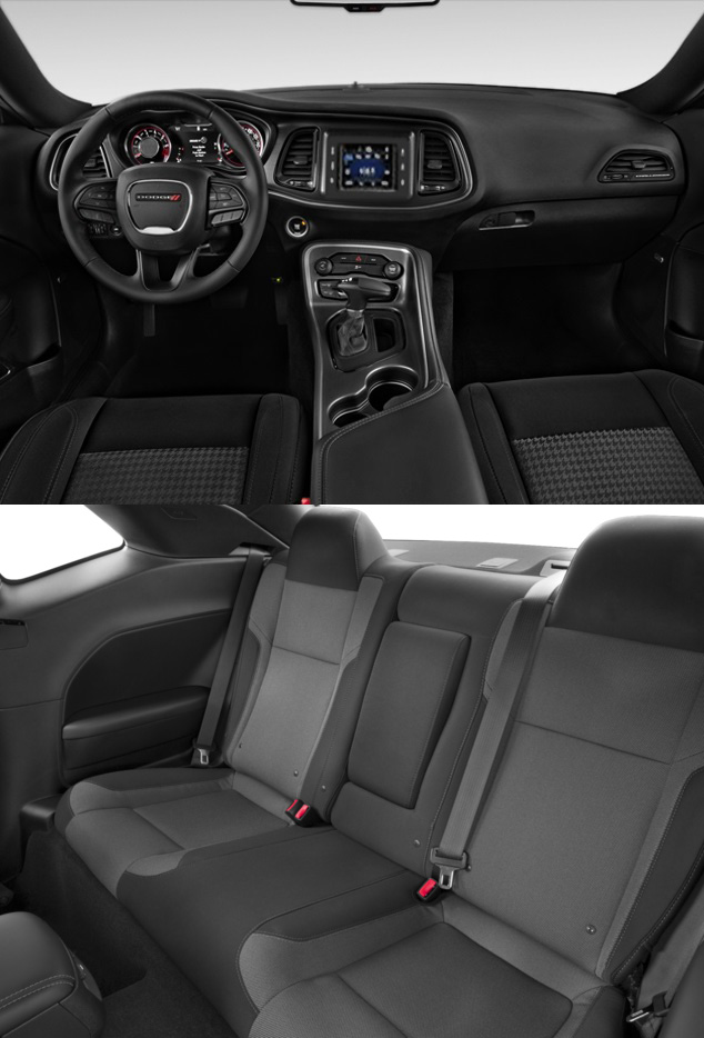 2016 Dodge Challenger interior. Available at Aventura Chrysler Jeep Dodge Ram