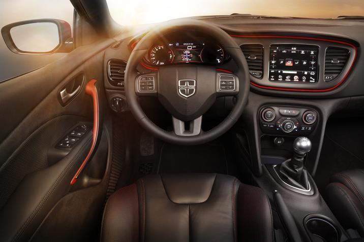 2016 Dodge Dart GT interior