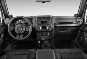 2016 Jeep Wrangler interior available in South Florida