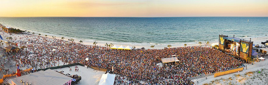 Hang Out Music Festival in Gulf Shores, AL.