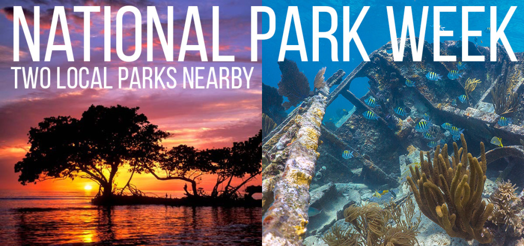 National Park week free admission to Everglades and Biscayne National Park