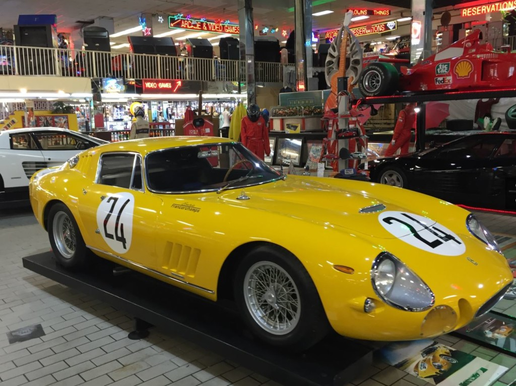 Rare Ferrari on display at the Fort Lauderdale Swap Shop