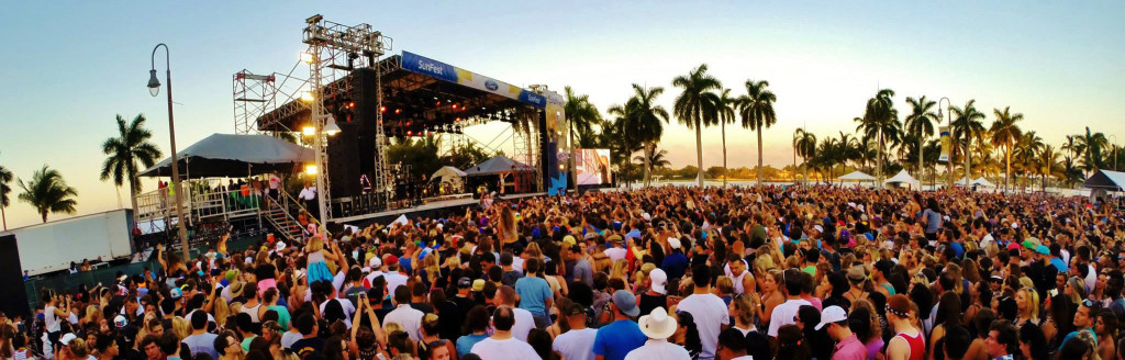 Sunfest Music Festival in West Palm Beach, Fla.