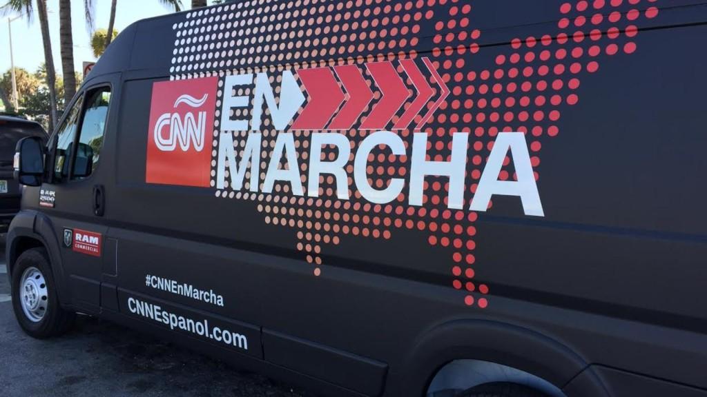 CNN En Marcha Cargo Van