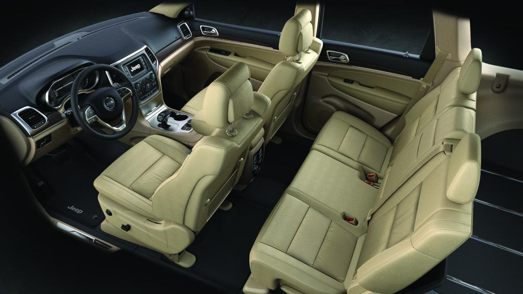 2016 Jeep Grand Cherokee Limited Interior