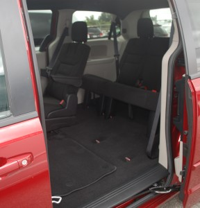 2016 Dodge Caravan Stow-n-Go Seating
