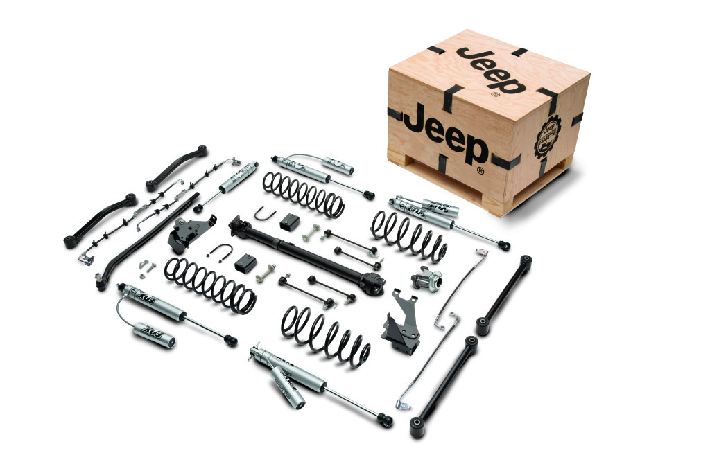 2016 Jeep Lift Kit