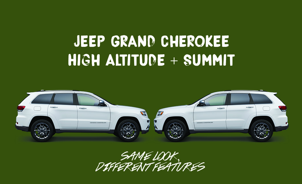 Comparing The Jeep Grand Cherokee Summit And High Altitude Aventura Chrysler Jeep Dodge Ram