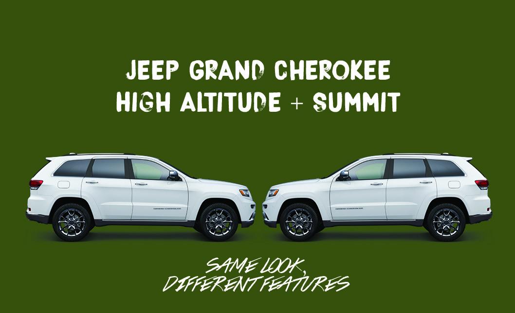 Captivating Jeep Grand Cherokee Comparison
