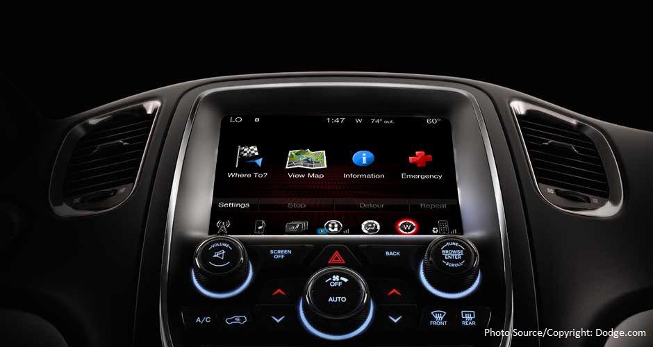 Aventura 2016 Dodge Durango GPS