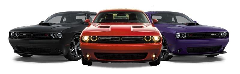2016 Dodge Challenger Comparison
