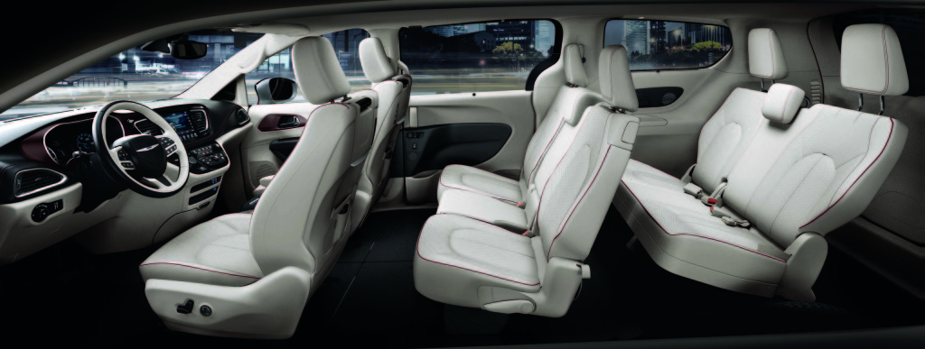 2017 Chrysler Pacifica Seating