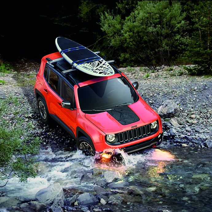 Jeep Renegade off-roading features