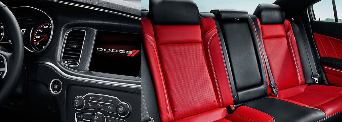 Dodge Charger 392 interior