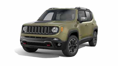 Aventura Jeep Renegade Trailhawk Off Road