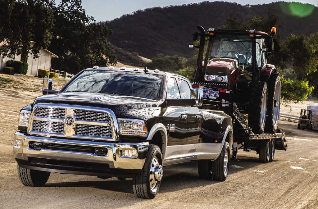 New Ram Truck Towing