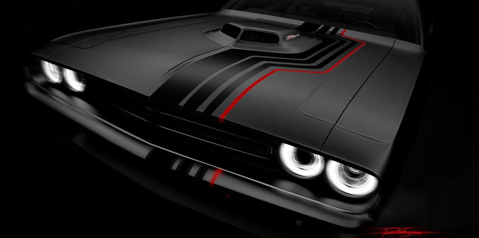 Aventura Dodge Challenger SEMA Concept
