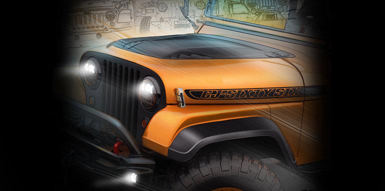 Aventura Jeep Wrangler SEMA Concept
