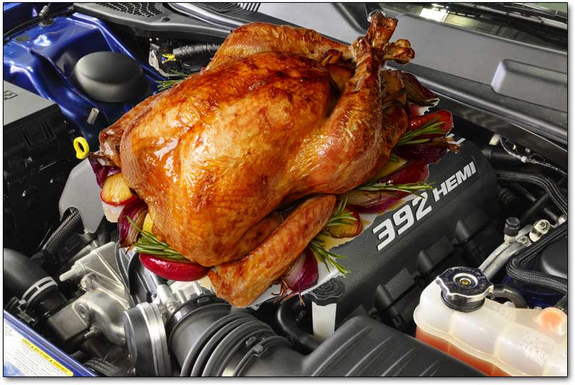 Aventura Cook Turkey Engine 392 HEMI