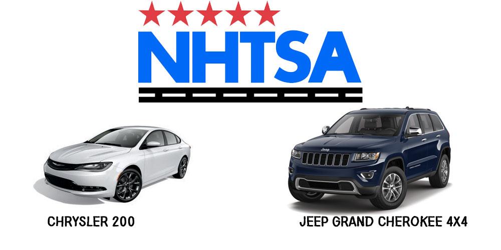 Aventura NHTSA Chrysler 200 Jeep Grand Cherokee 4x4