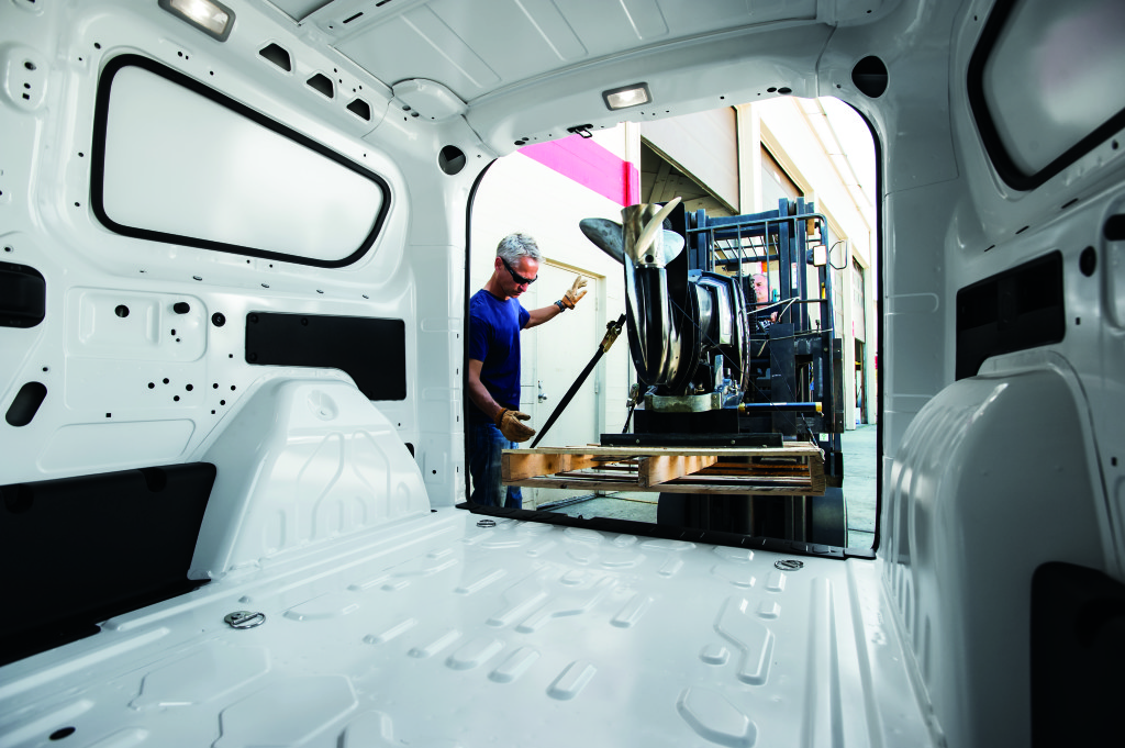 Aventura Ram Promaster Cargo Van Interior