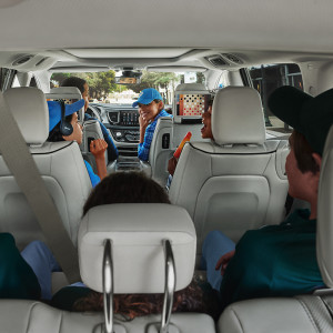 Chrysler Pacifica interior features