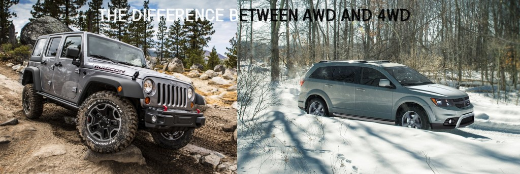 Aventura Difference Between AWD 4WD