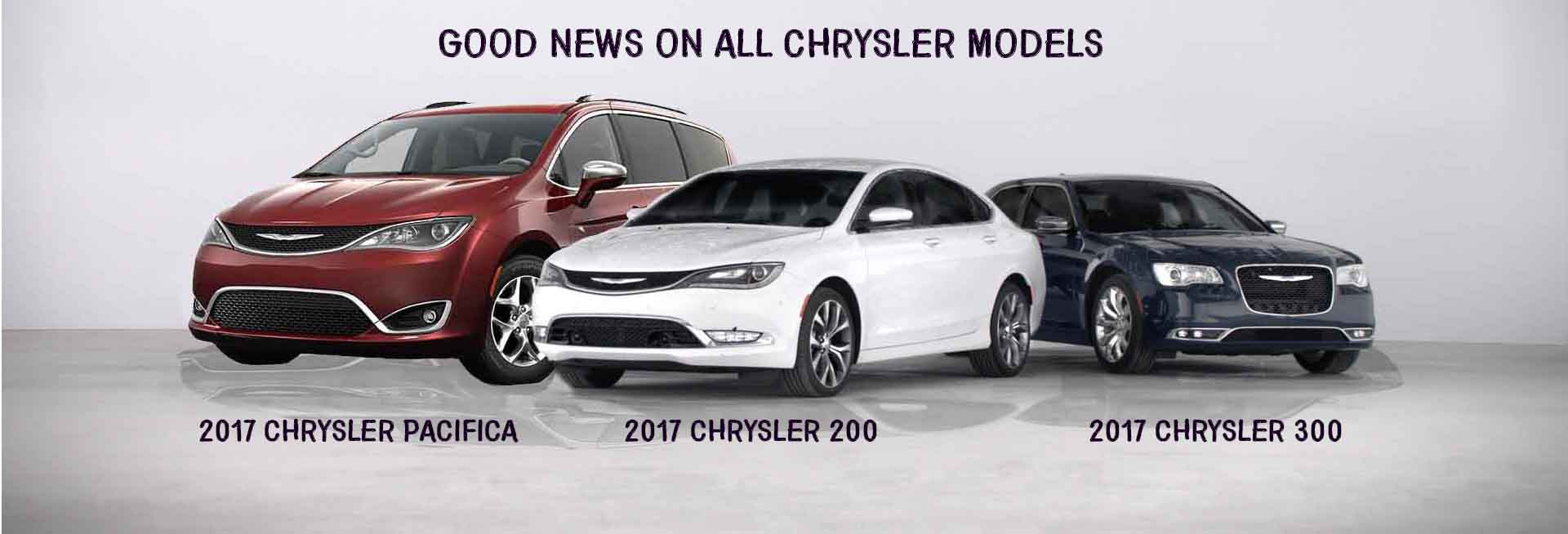 Good News Chrysler Models Aventura