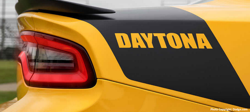 what makes the new charger daytona different