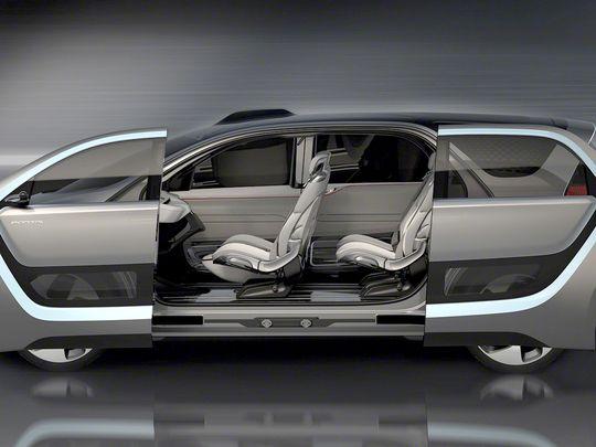 Aventura Chrysler Portal Autonomous Sliding Doors