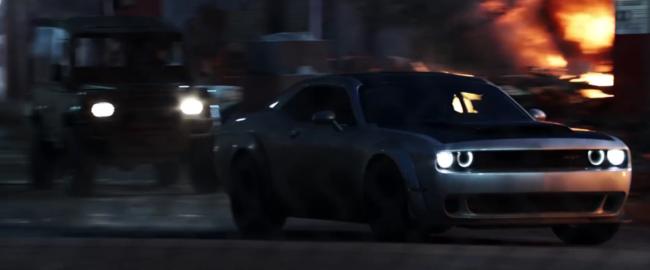 Aventura Dodge Challenger SRT Demon Fast and Furious