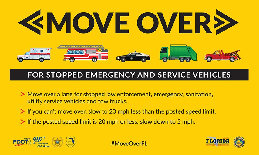 Aventura Move Over Law Month January Official