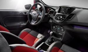 2016 Ford Fiesta inside