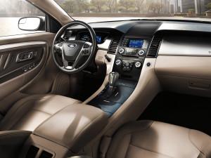 Ford Fusion Hybrid inside