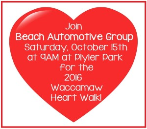 2016 Waccamaw Heart Walk