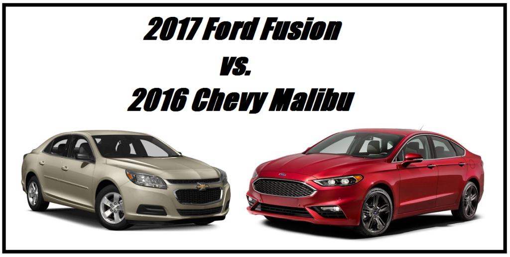 2016 chevy malibu vs 2017 ford fusion beach automotive. Black Bedroom Furniture Sets. Home Design Ideas