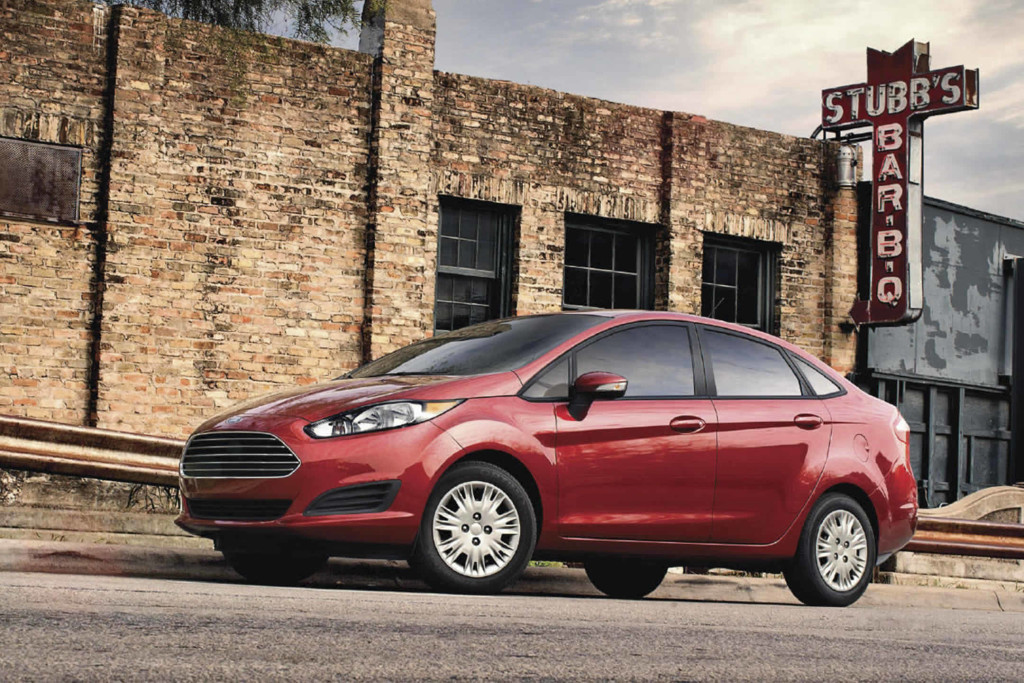 red 2017 Ford Fiesta