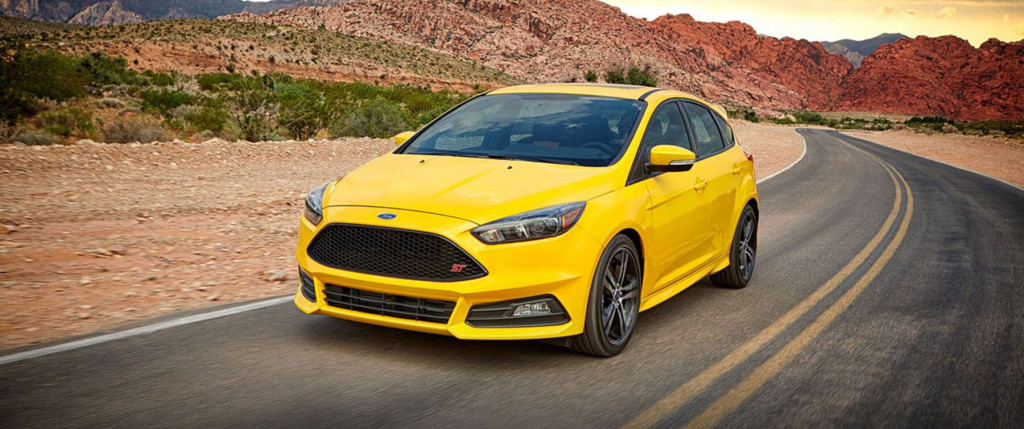 yellow 2017 Ford Focus