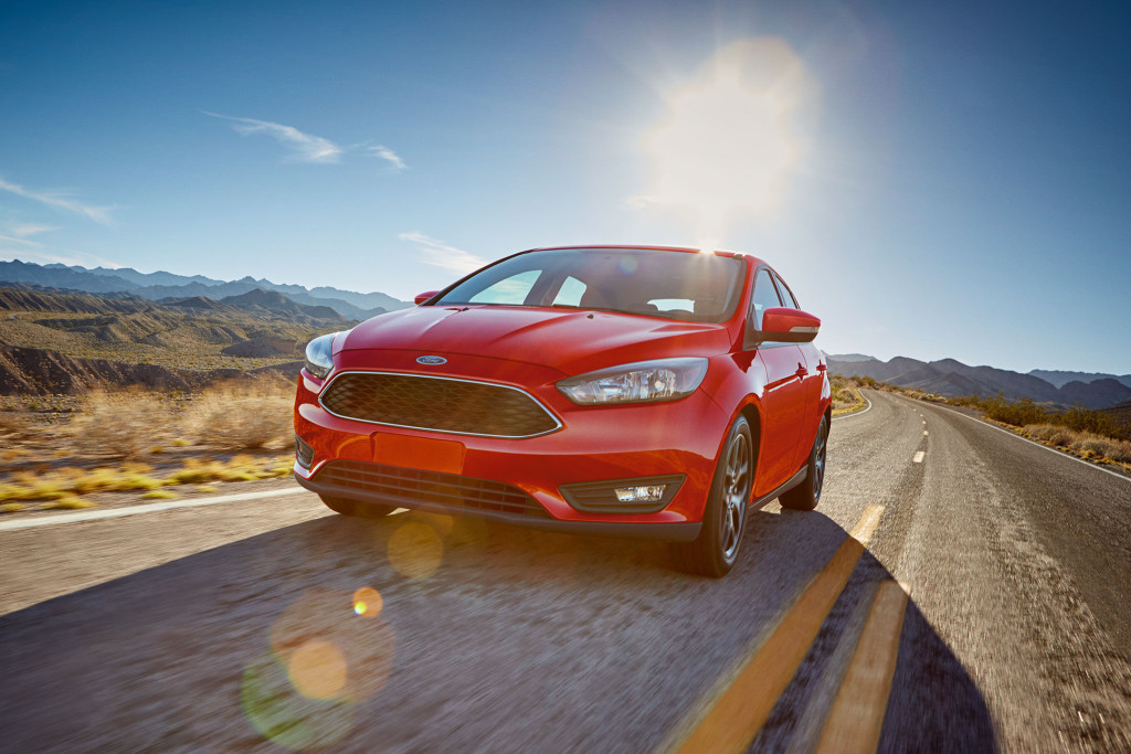 red 2017 Ford Focus