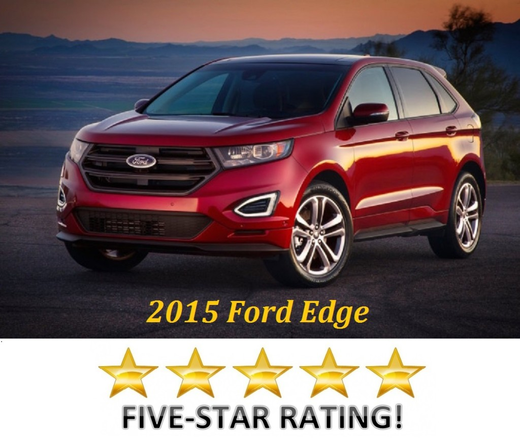 Safety Minded Families Now Have One More Reason To Consider The Much Improved  Ford Edge Its Achieved A Batch Of Top Tier Crash Test Ratings