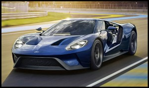 The Colors And Materials That Ford Had Chosen For The Ford Gt Are Completely Intentional