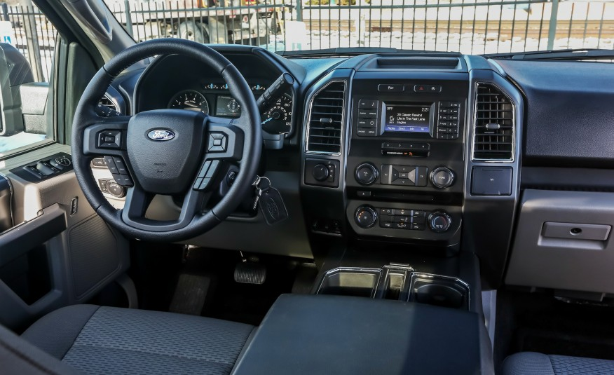 2017 Ford F 150 Interior >> 2017 Ford F 150 Coming Soon Beach Ford