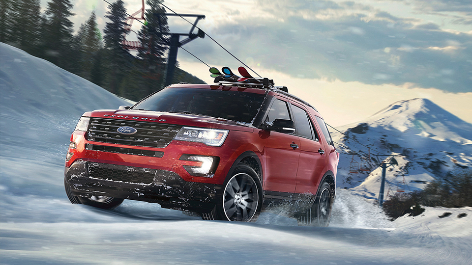 2017 Ford Explorer Snow