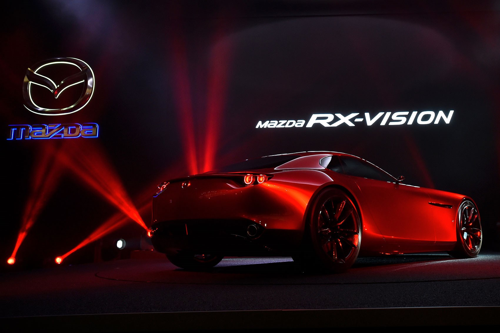 Mazdas Stunning Rotary Powered Sports Car Concept The Mazda Rx Vision Recently Won The Most Beautiful Concept Car Of The Year Award At The 31st