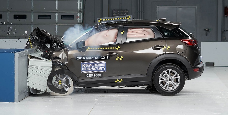 iihs names 2016 mazda cx 3 top safety pick beach mazda. Black Bedroom Furniture Sets. Home Design Ideas