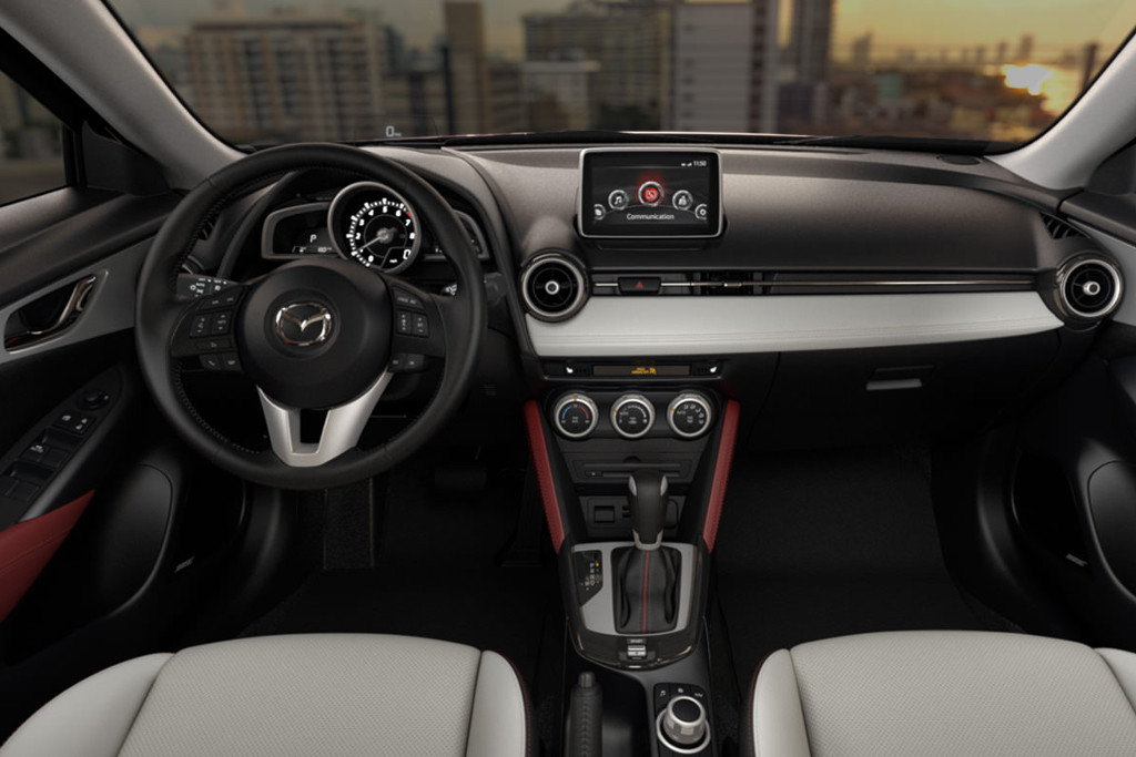 2016 Mazda CX-3 interior dash