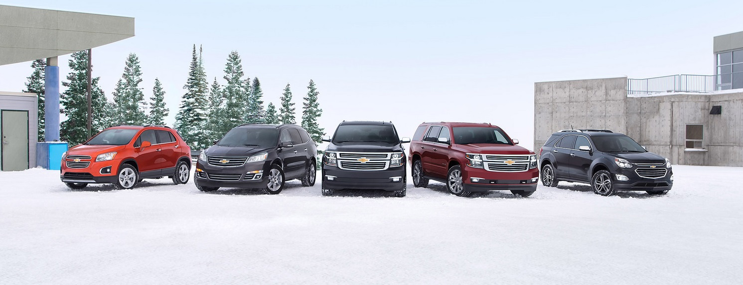 2016 Chevrolet Crossover and SUV Lineup at Carter Chevrolet in Okarche OK