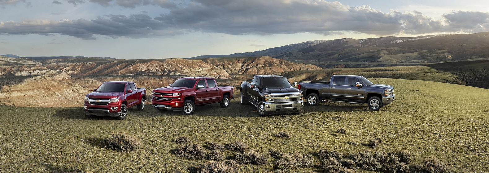 2016 Chevrolet Truck Lineup at Carter Chevrolet in Okarche OK