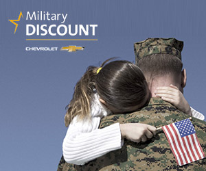 Chevrolet Military Discount at Carter Chevrolet near Oklahoma City